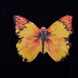 Handcrafted Tin Butterfly Pin